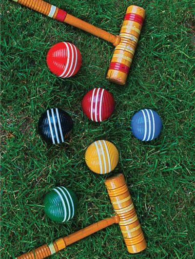 Shutter stock croquet photo