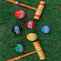 Shutter stock croquet photo